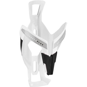 Elite Custom Race Plus Bidonhouder, glossy white/black design